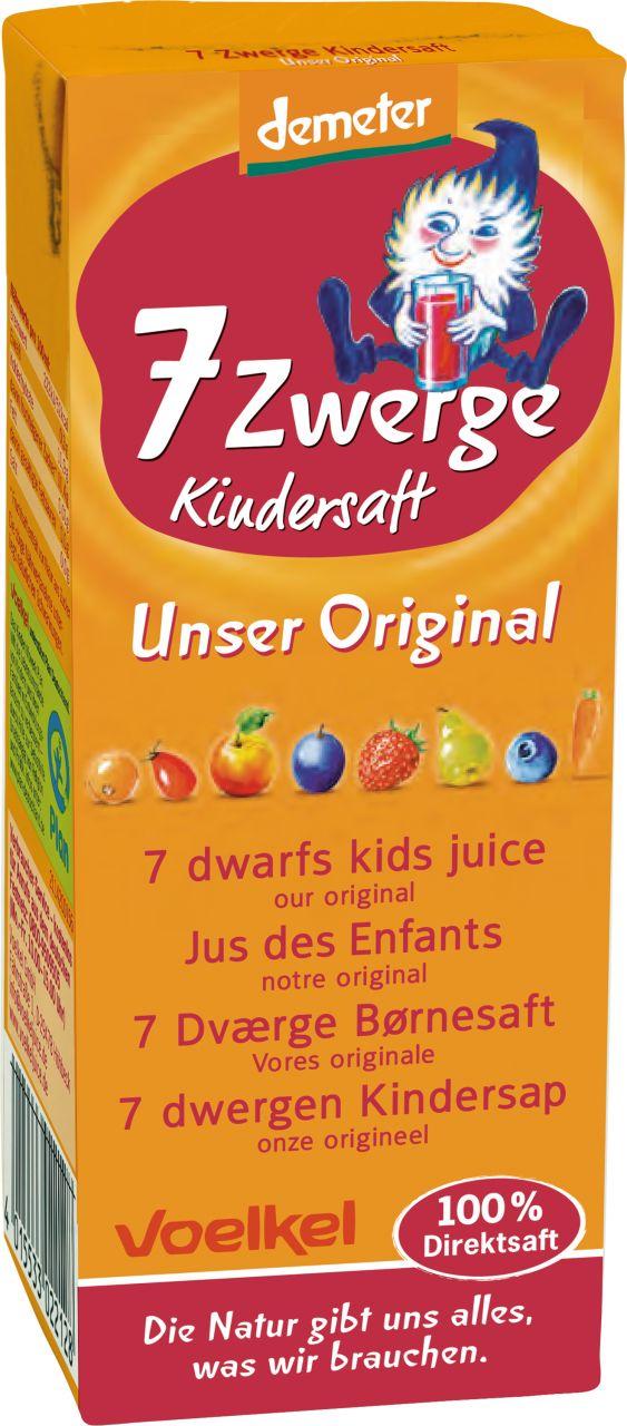 7 Zwerge Kindersaft - Unser Original