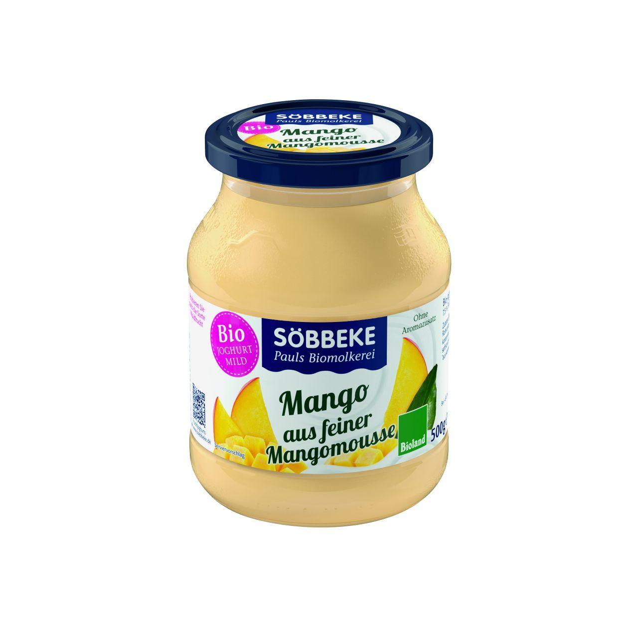 Bio Joghurt mild Mango-Mousse