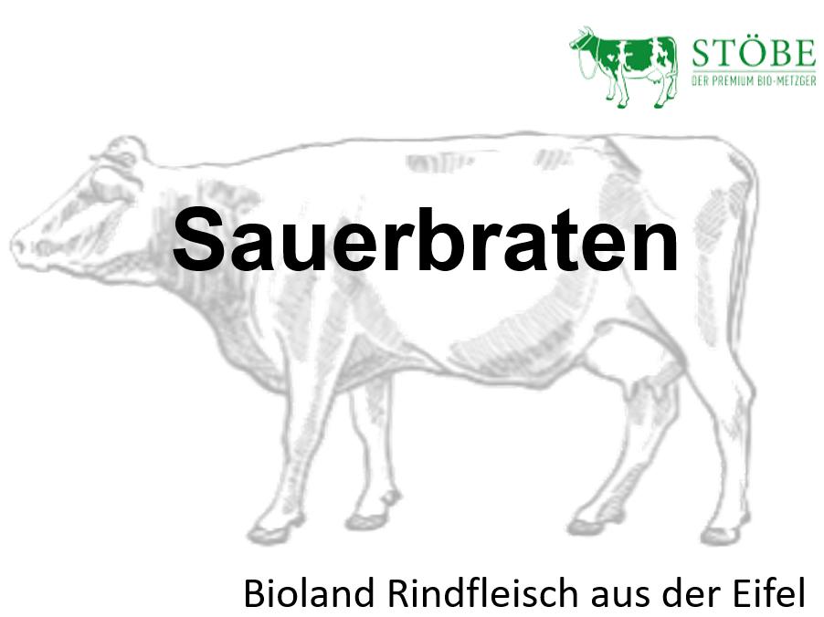 Sauerbraten vom Rind (Vorbestellung 23. + 24.12.)