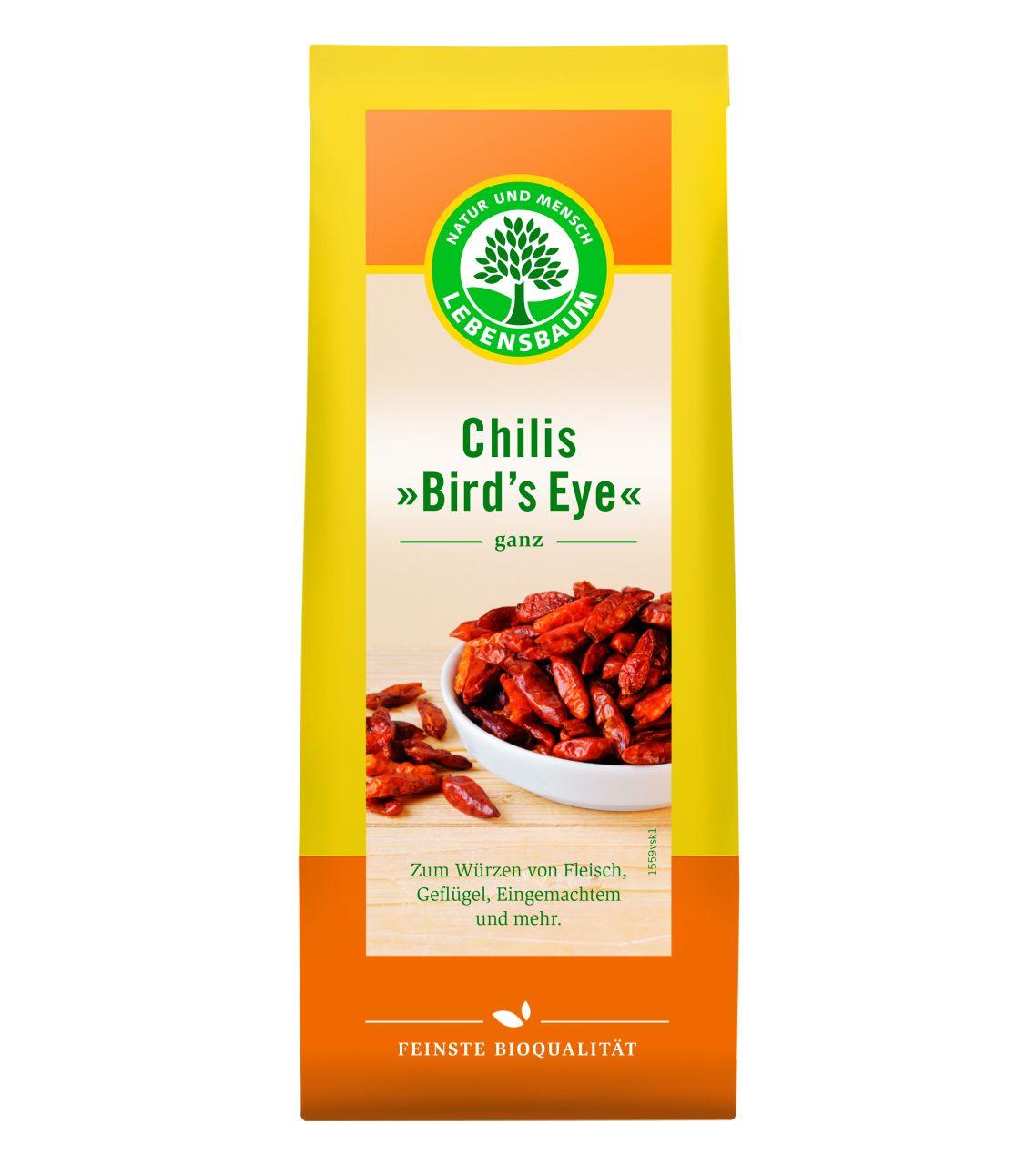 Chillies (Bird´s Eye), ganz