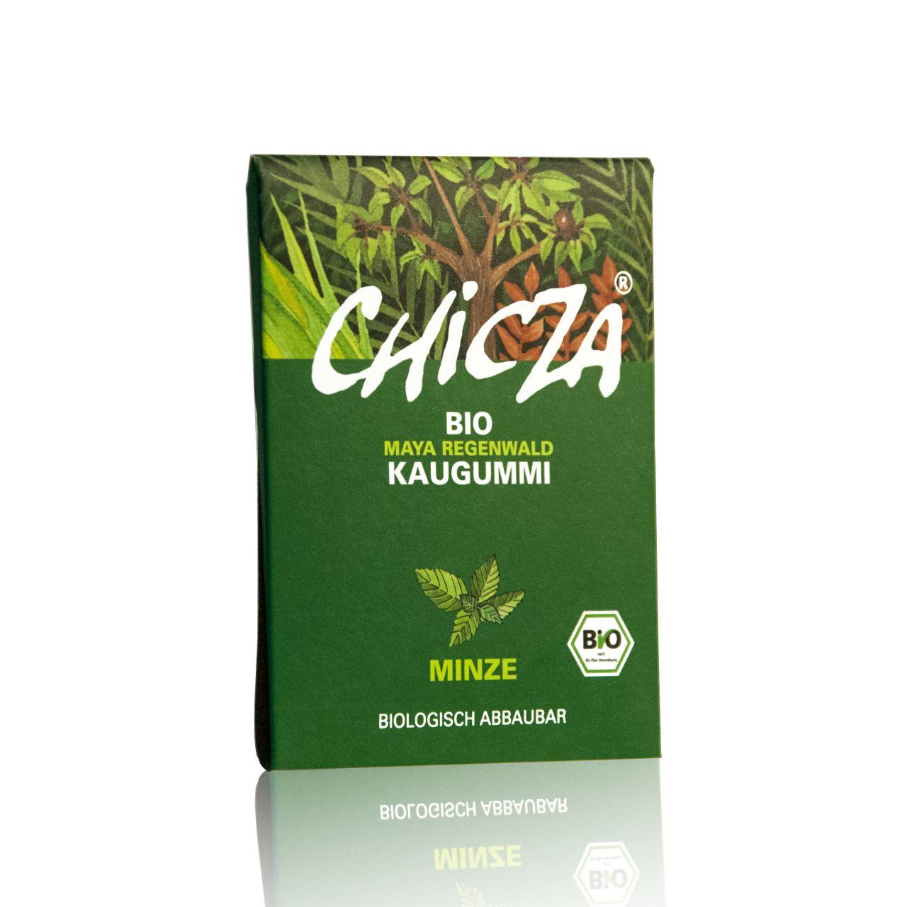 CHICZA Bio-Kaugummi Minze