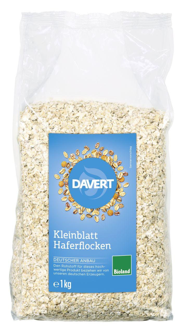Kleinblatt Haferflocken Bioland 1kg