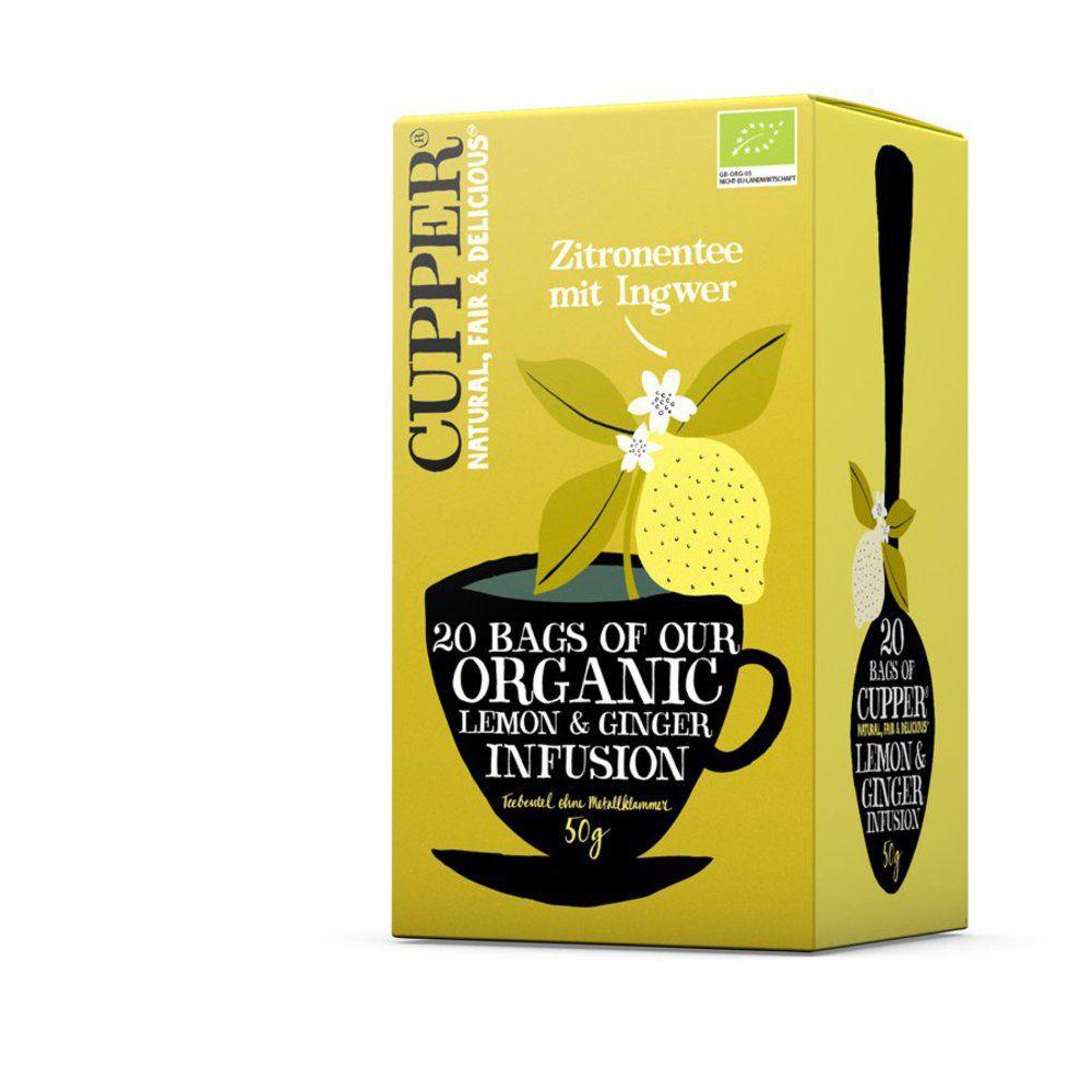 Zitronentee mit Ingwer