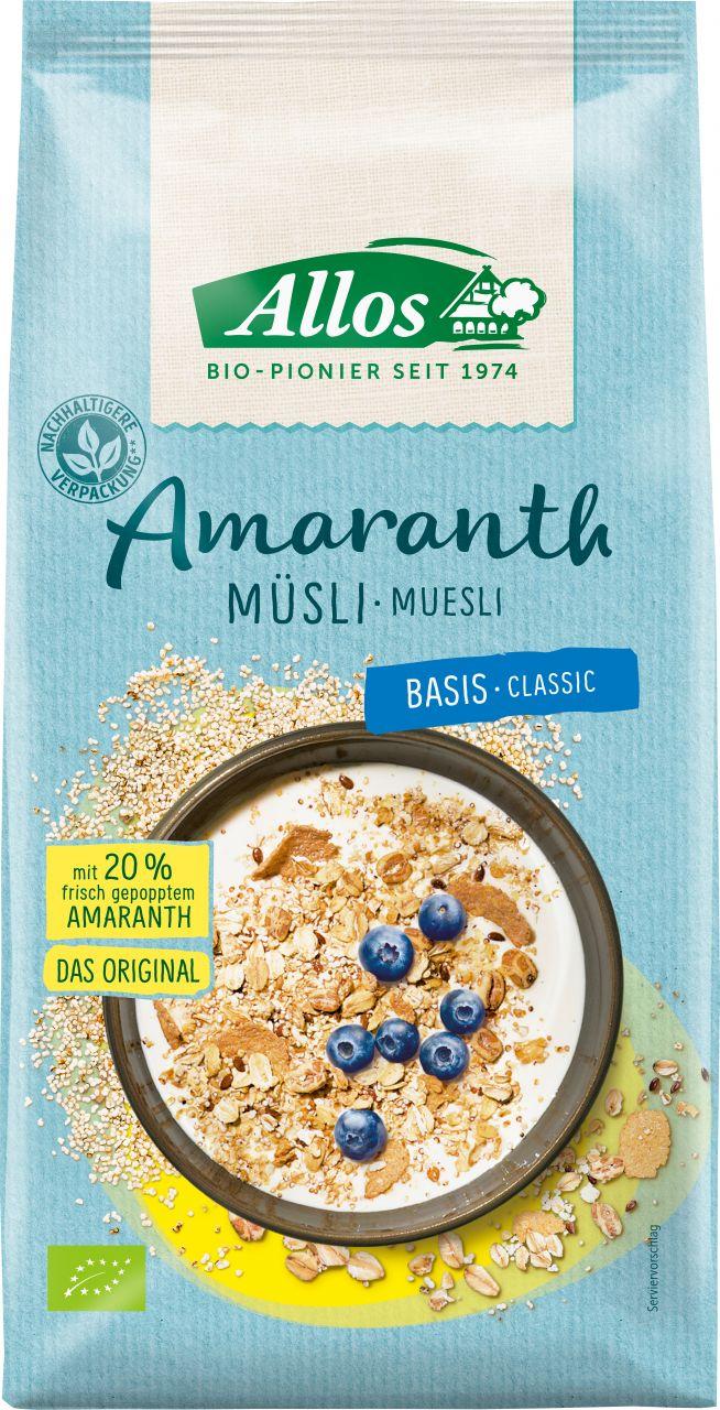 Amaranth Basis Muesli Classic