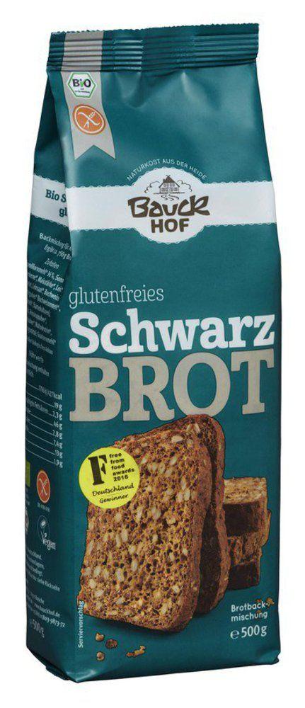 Schwarzbrot glutenfrei Bio