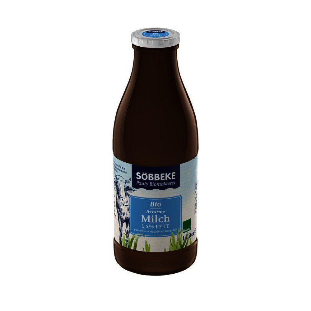 Frische fettarme Bio-Milch