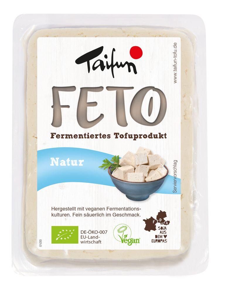FETO Natur - fermentierter Tofu