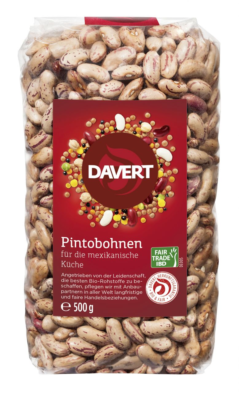 Pintobohnen Fair Trade IBD 500g