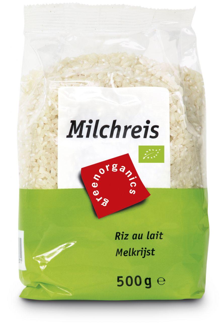 Bio-Milchreis weiß