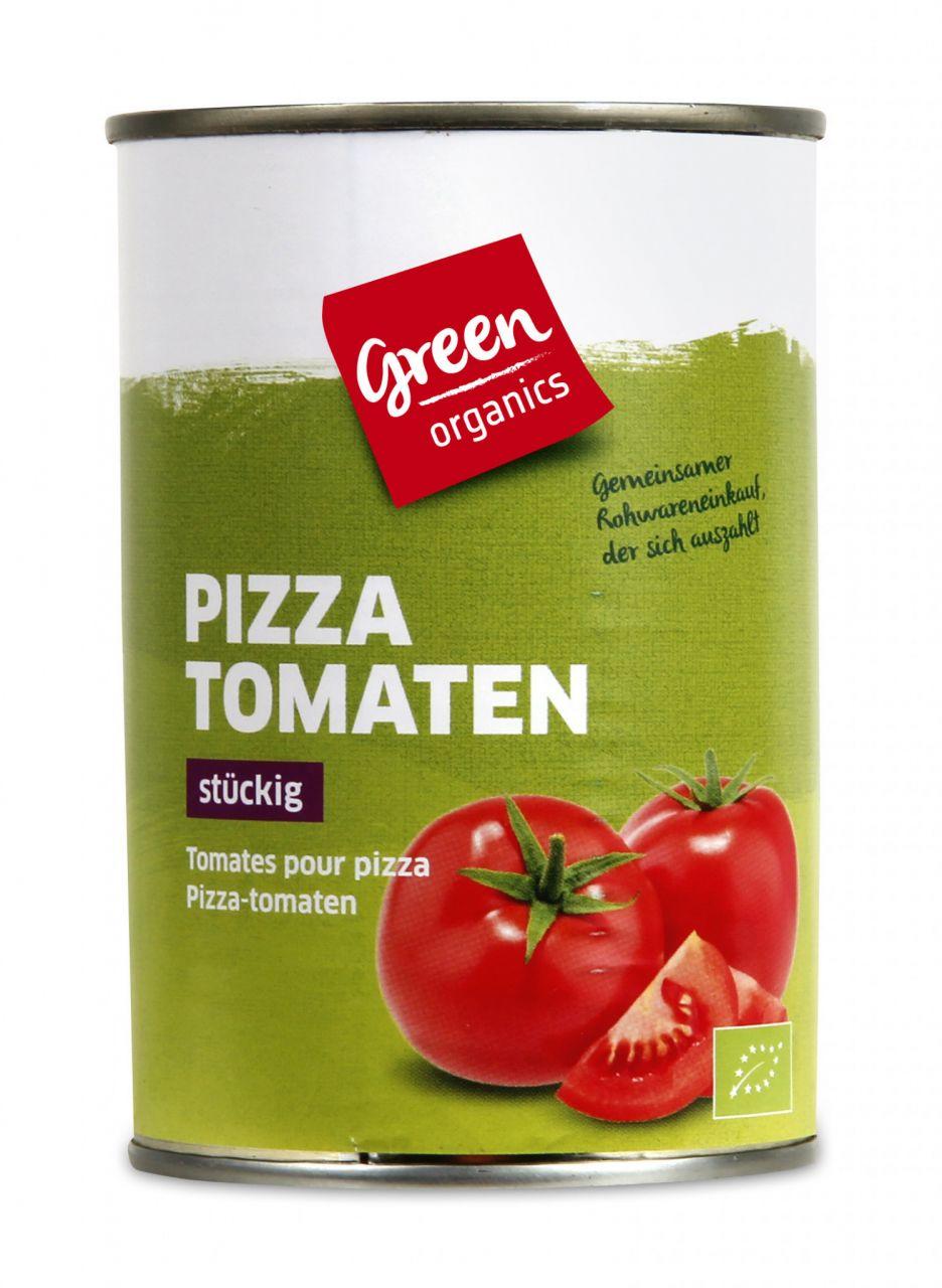 Pizza Tomaten stückig