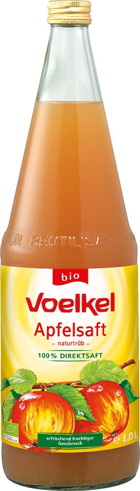 Apfelsaft naturtrüb, Bio - 100% Direktsaft