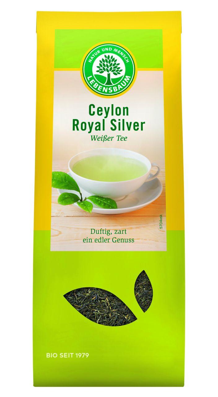 Ceylon Royal Silver, Weißer Tee