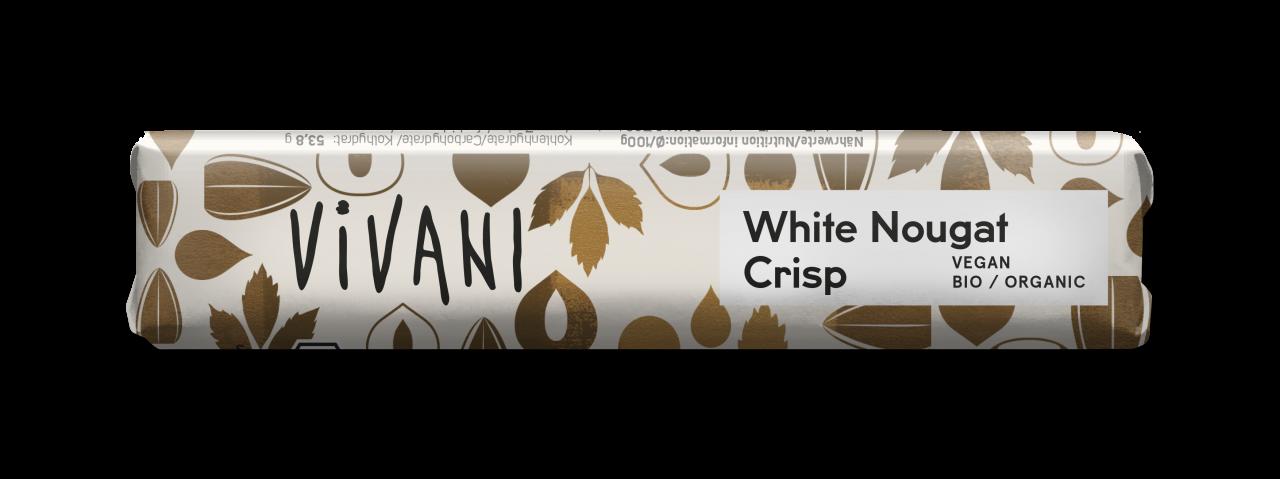 White Nougat Crisp Riegel