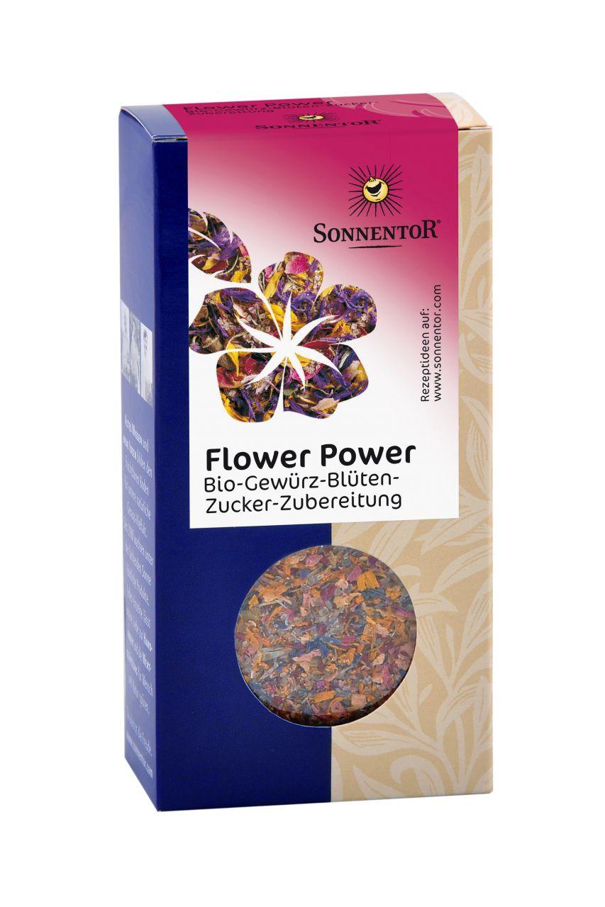 Flower Power Gewürz-Blüten-Zubereitung bio