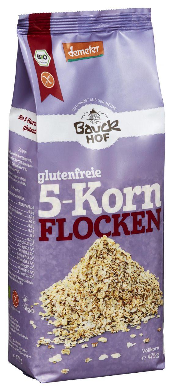 5-Korn Flocken Demeter glutenfrei