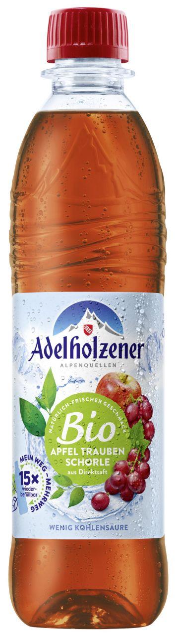 Adelholzener BIO Schorle Apfel Traube
