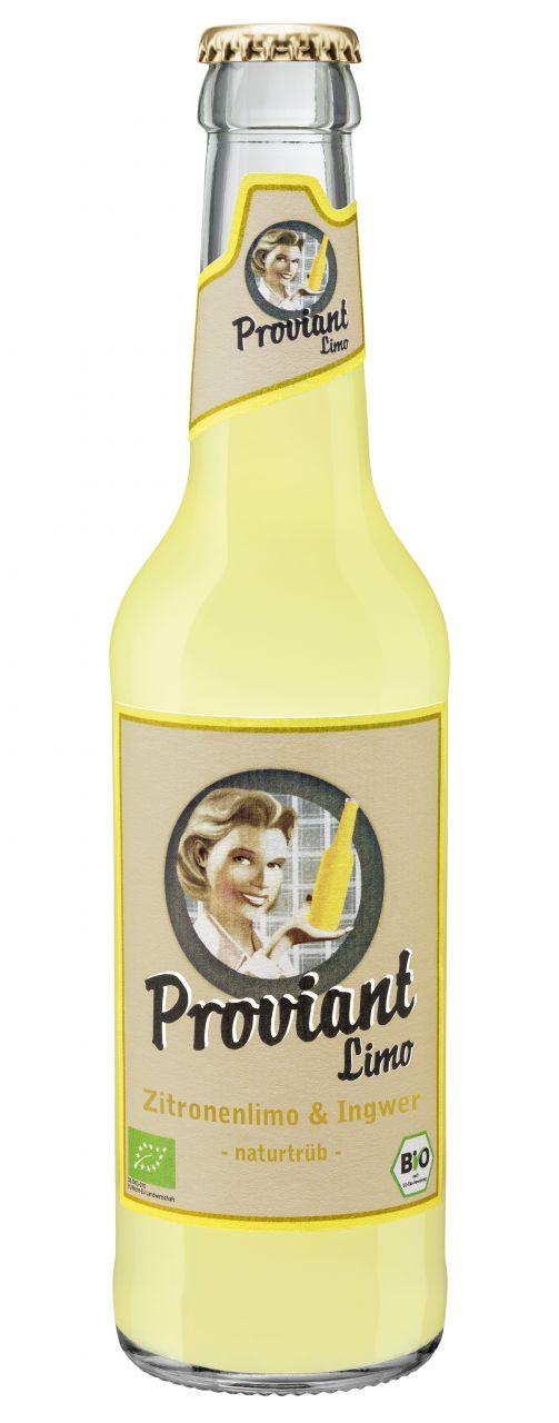 Ingwer + Zitronenlimonade (Bio)