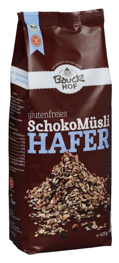 Hafer Müsli Schoko glutenfrei Bio