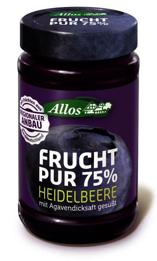 Frucht Pur 75% Heidelbeere