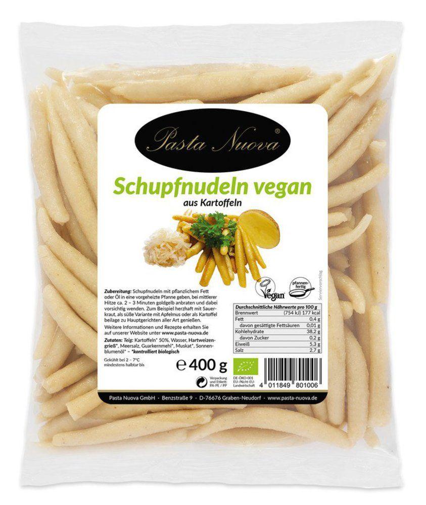 Frische vegane Schupfnudeln aus Kartoffel