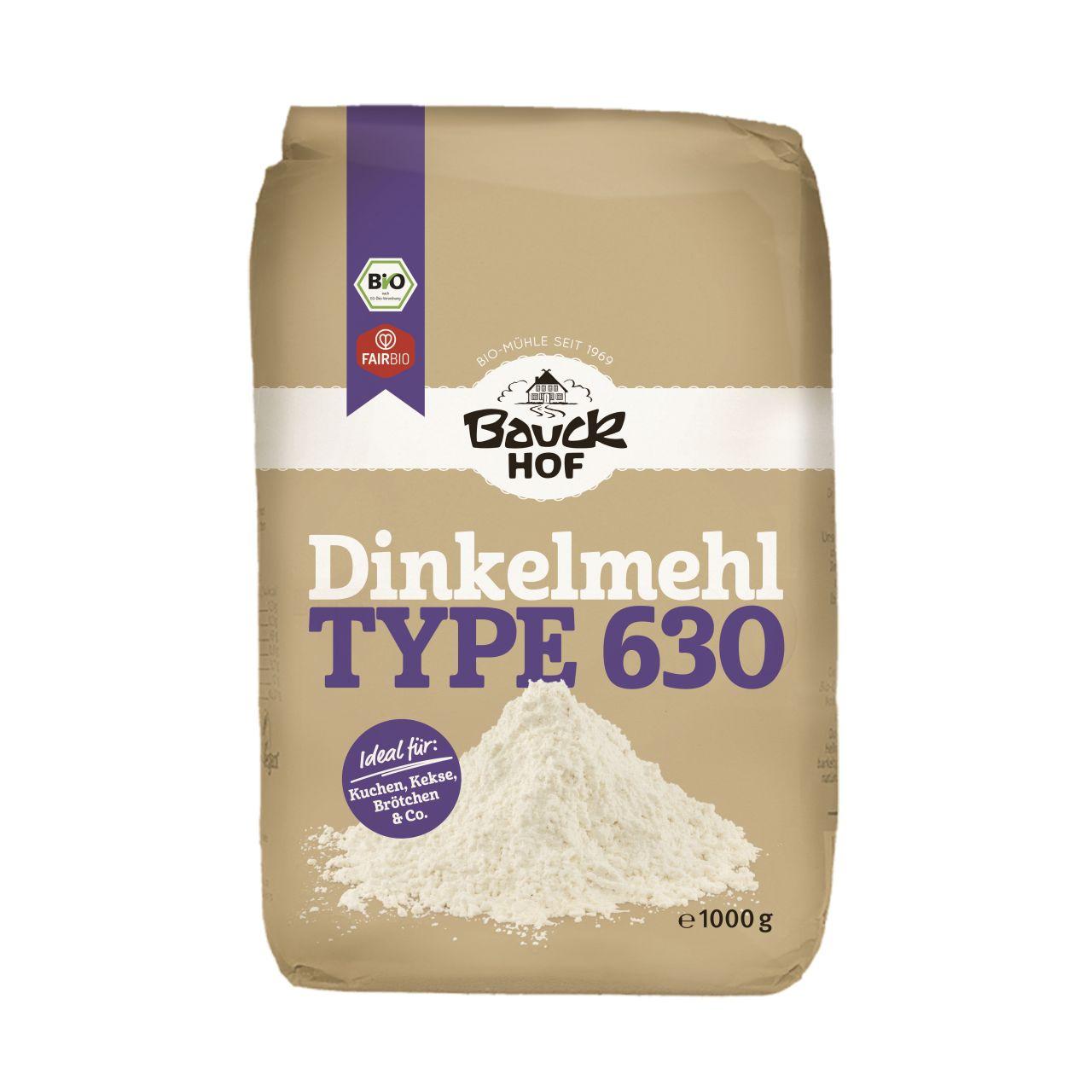 Dinkelmehl Type 630 hell Bio