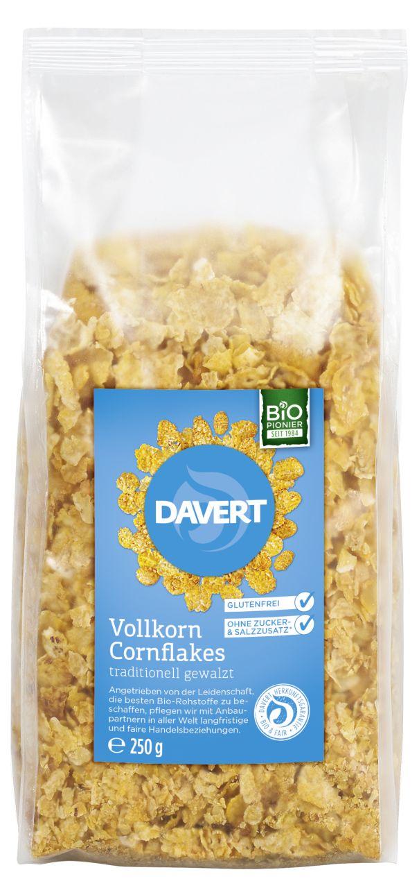 Vollkorn Cornflakes glutenfrei 250g