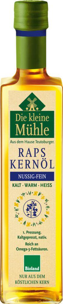 Kl. Mühle Raps-Kernöl KALT-WARM-HEISS