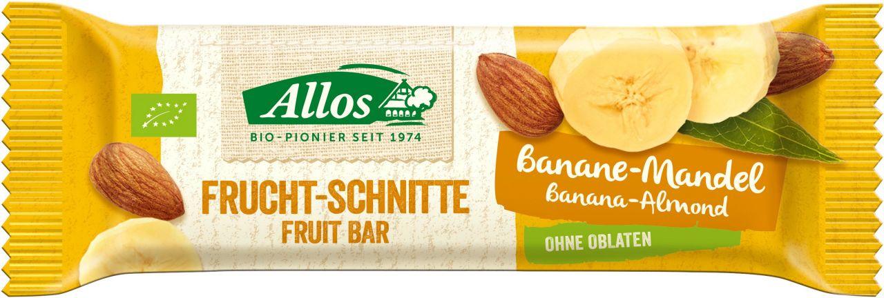 Frucht-Schnitte Banane Mandel