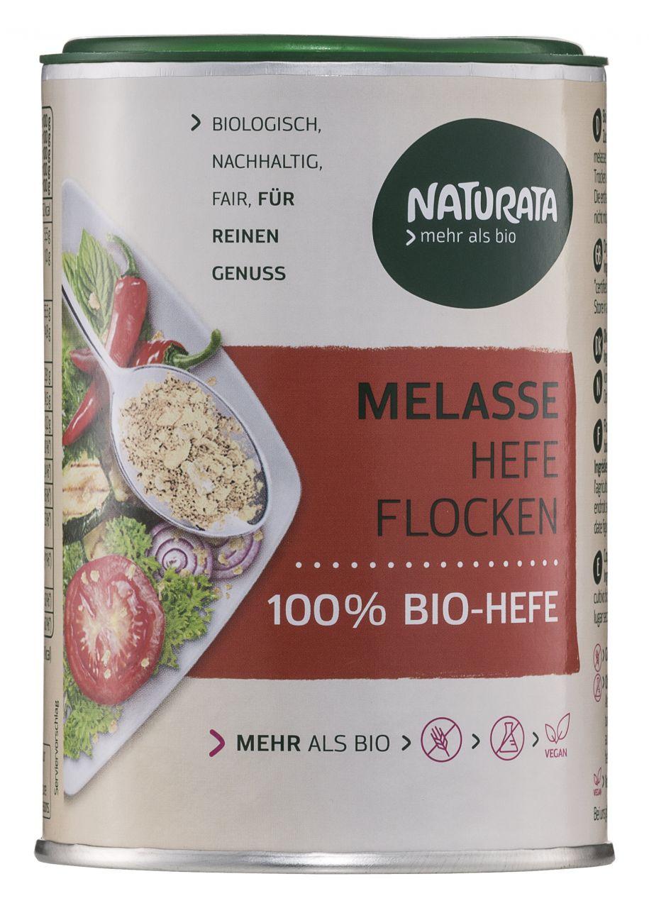Melasse Hefeflocken, 100 % Bio-Hefe