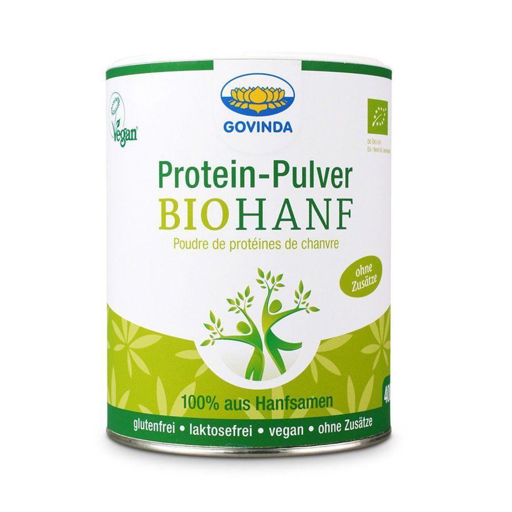 Bio-Hanf-Protein-Pulver