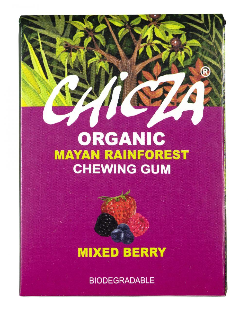 CHICZA Bio-Kaugummi Beeren Mix