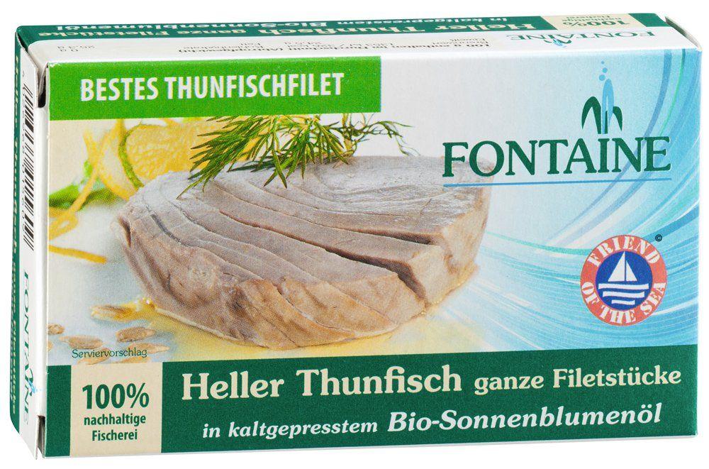 Heller Thunfisch in Bio-Sonnenblumenöl