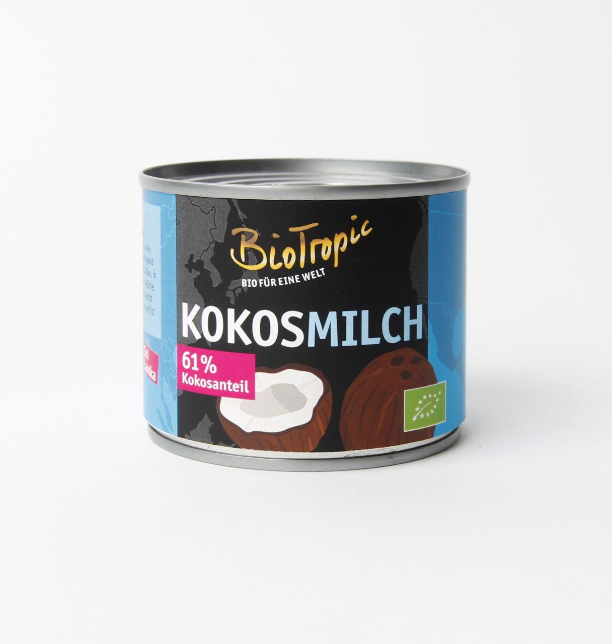 Bio-Kokosmilch 22% Fett