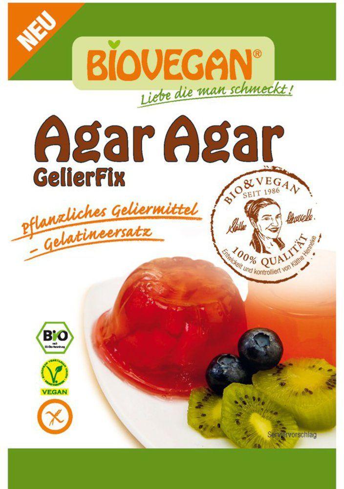 Agar Agar, pflanzliches Geliermittel, BIO