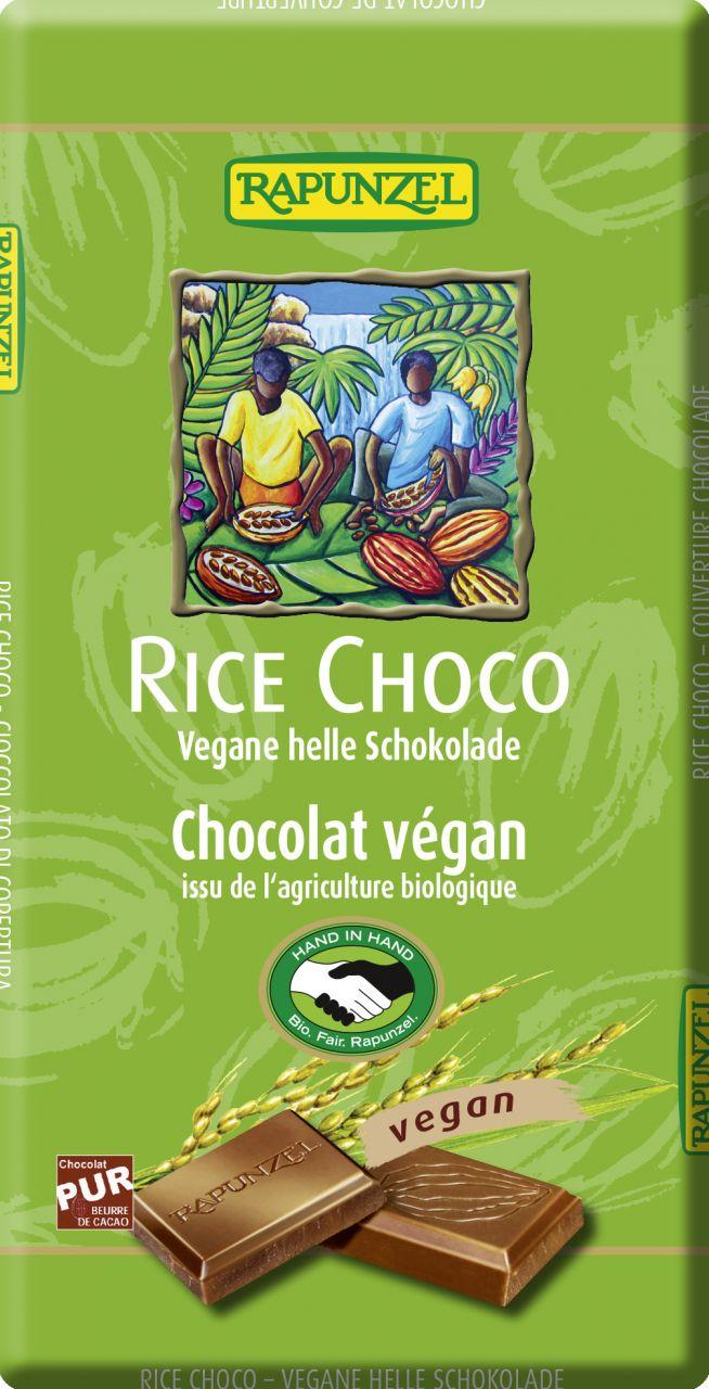 Rice Choco vegane helle Schokolade HIH
