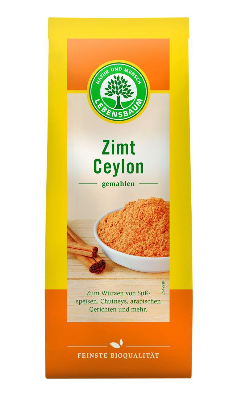 Zimt Ceylon, gemahlen