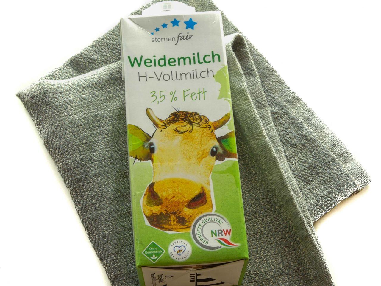 Weidemilch (H - Milch), 3,5% Fett