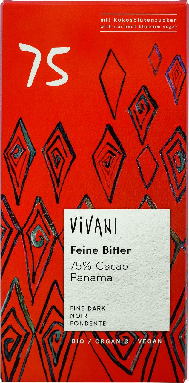Feine Bitter 75% Cacao Panama
