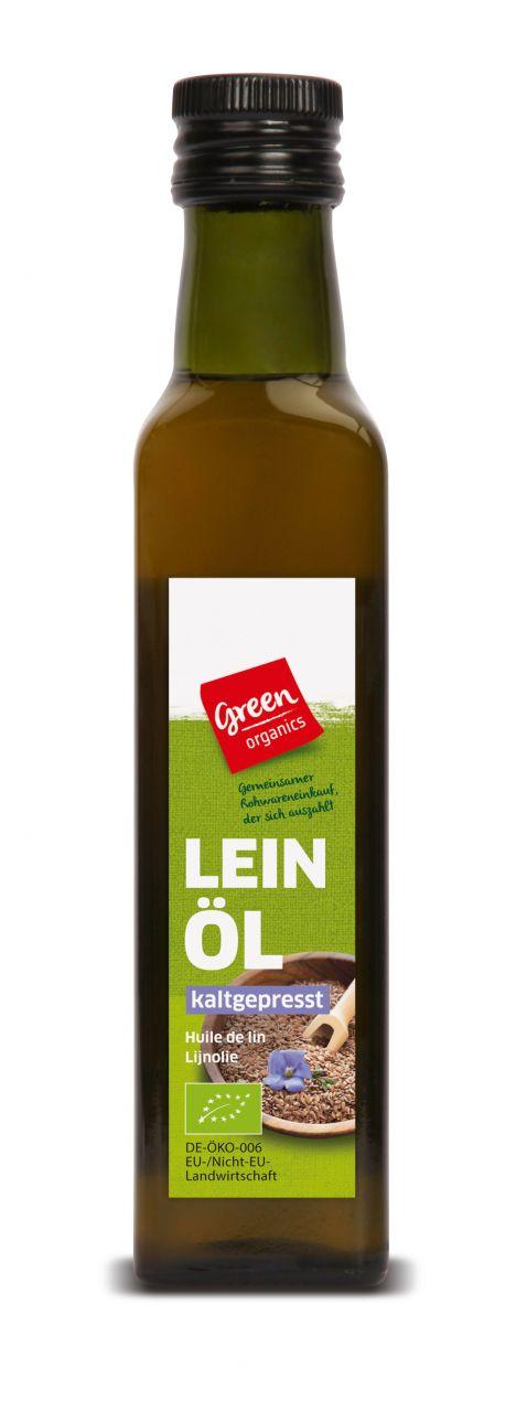 Bio-Lein-Öl