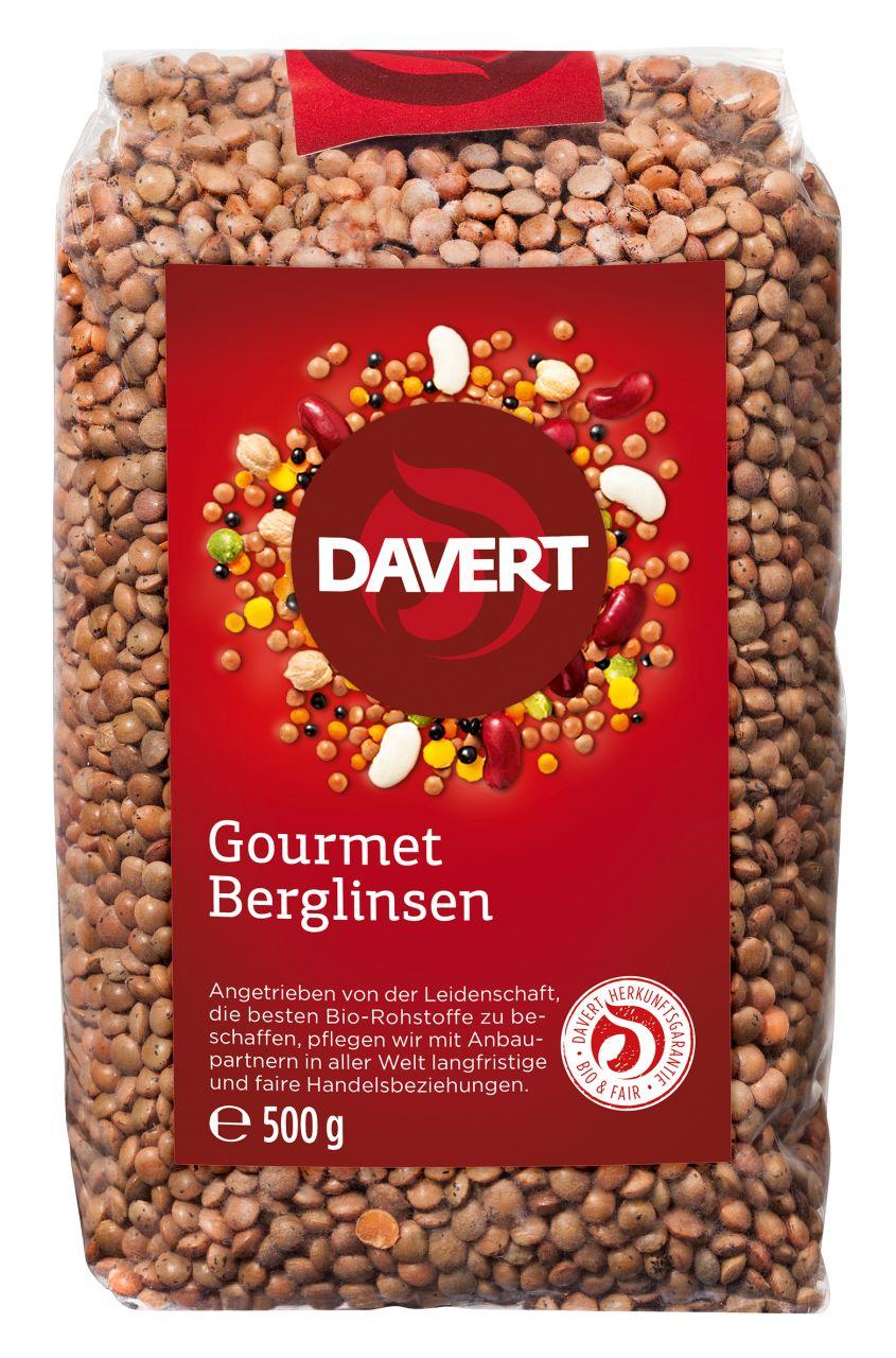 Gourmet Berglinsen 500g