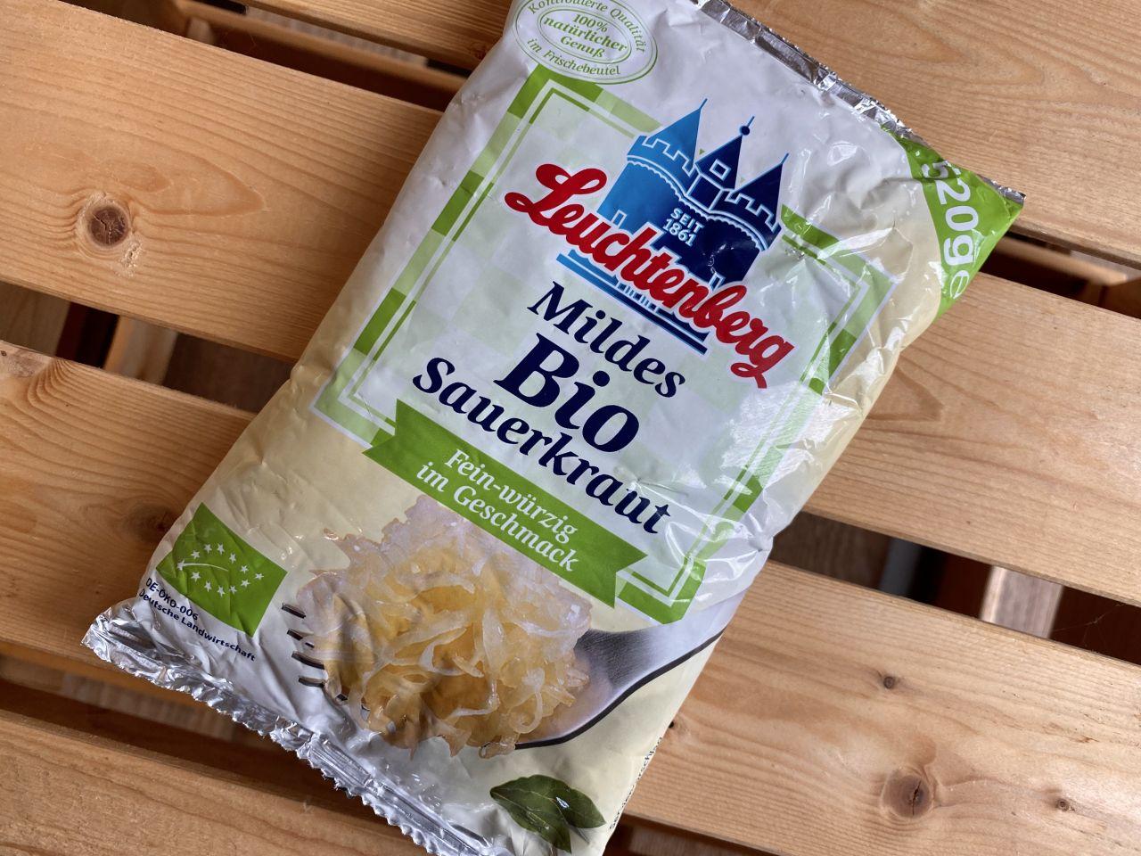 Mildes Bio Sauerkraut
