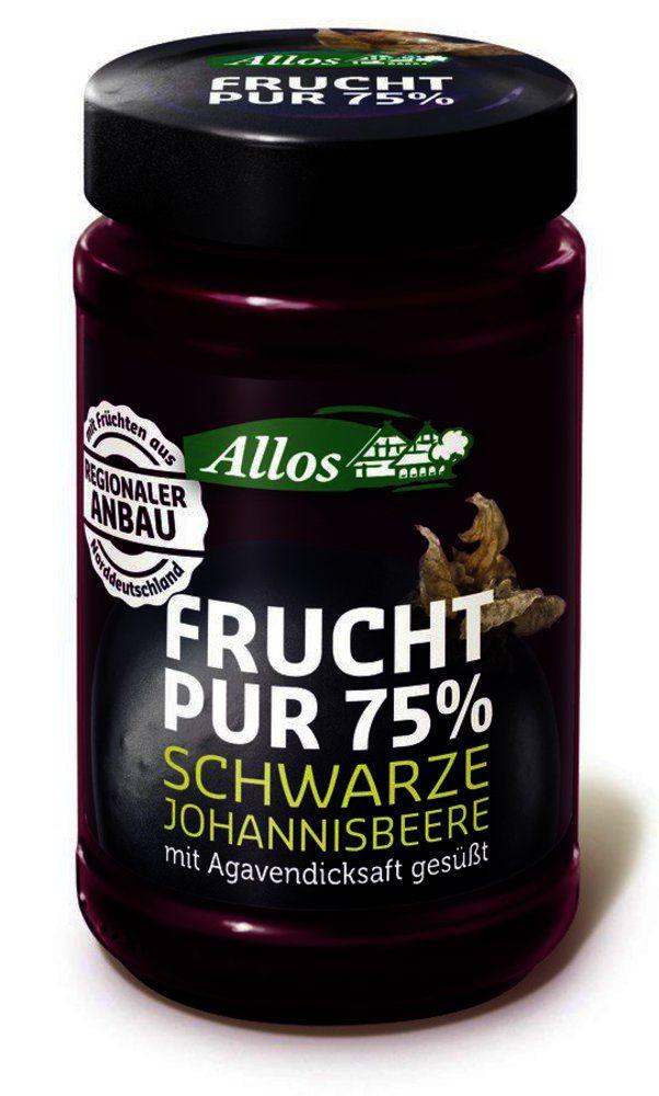 Frucht Pur 75% Schwarze Johannisbeere