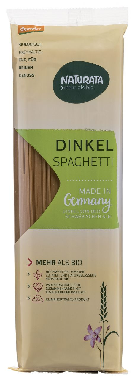 Spaghetti, Dinkel hell