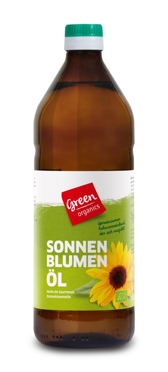 Sonnenblumen-Öl