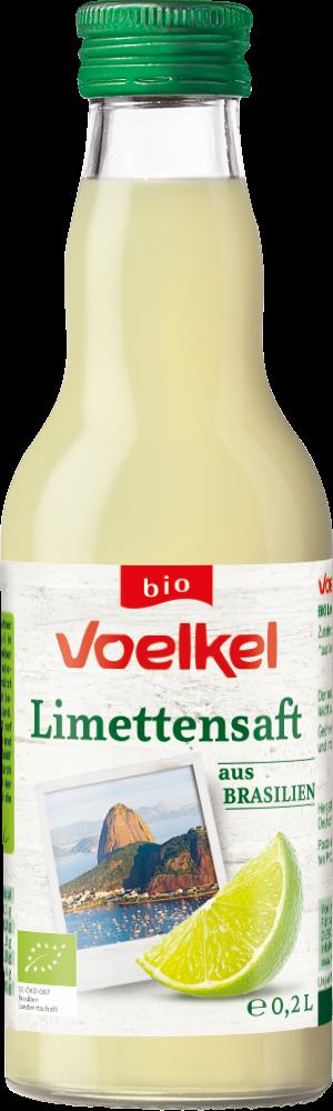 Limettensaft aus Brasilien