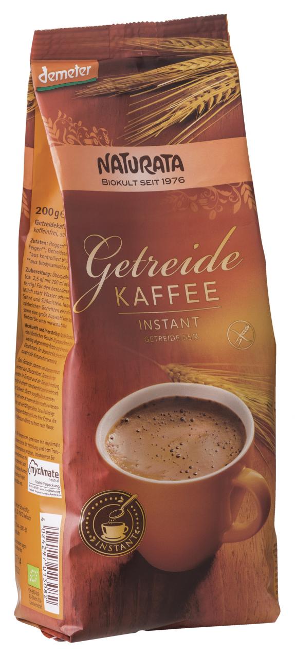 Getreidekaffee, instant, Nachfüllbeutel