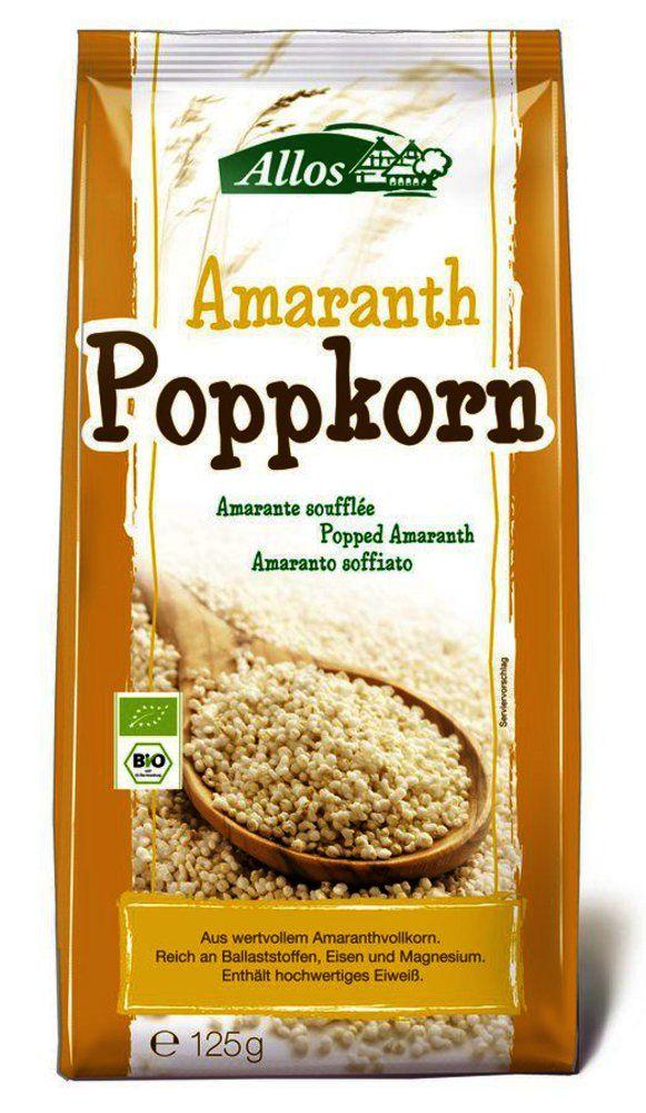 Amaranth Poppkorn