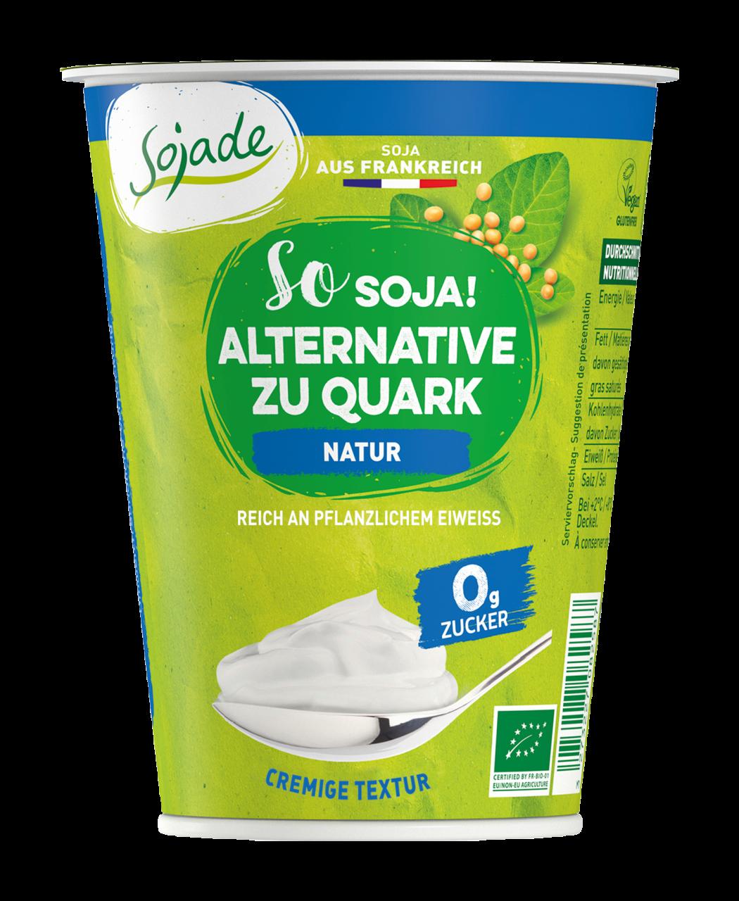 SOJADE Soja Alternative zu Quark Natur