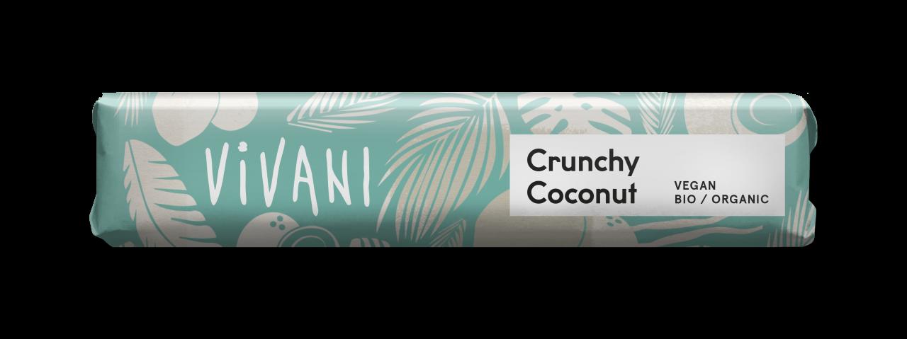 Crunchy Coconut Schokoriegel