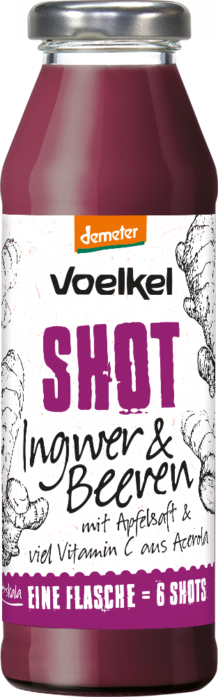 Shot Ingwer & Beeren